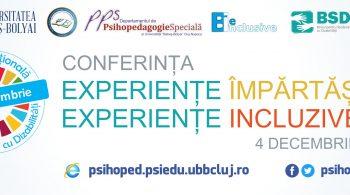 Conferinta experiente impartasite, experiente incluzive