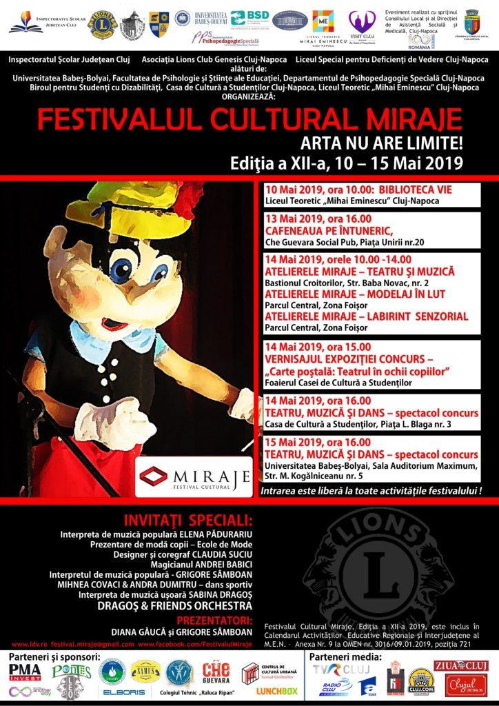 AFIS Festivalul Cultural Miraje 2019