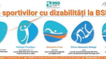 Seara sportivilor cu dizabilitati la BSD