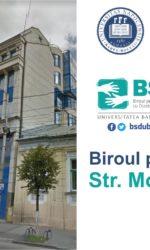 Noua locație a Biroului pentru Studenți cu Dizabilități
