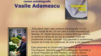 afis lansare carte Vasile Adamescu