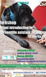 Workshop – Noțiuni introductive în intervențiile asistate de animale