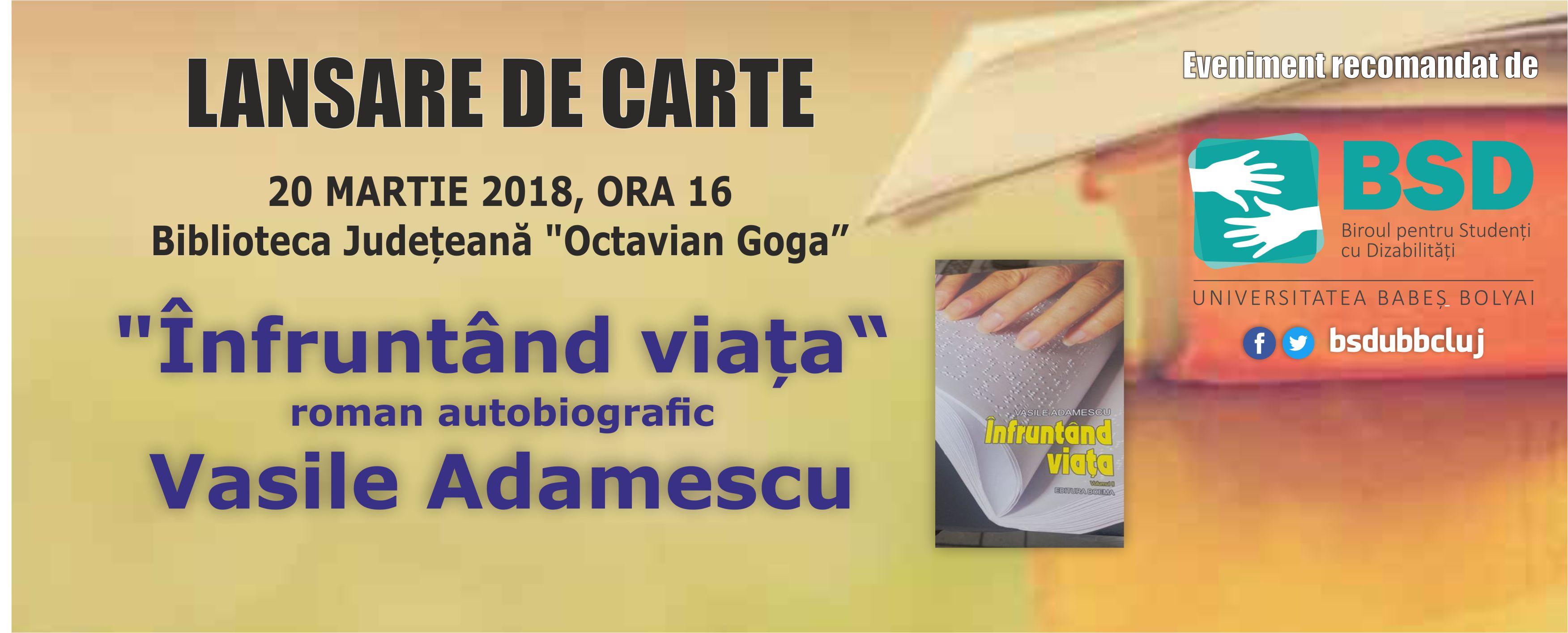banner adamescu lansare carte