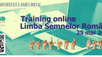 Training online Limba Semnelor Române (LSR)