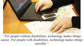 UBB, prima universitate din România care a oferit asistență studenților cu dizabilități vizuale